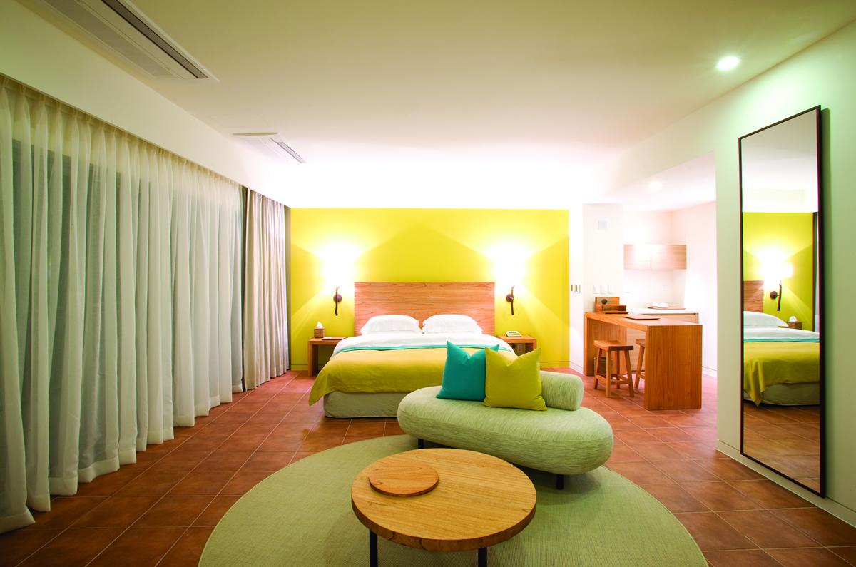 ラオラオベイゴルフ&リゾートのホテル客室