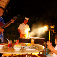 グランヴィリオリゾートのBBQディナー(ガラパン地区/サイパン島)