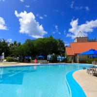 グランヴィリオリゾートのプール(ガラパン地区/サイパン島)
