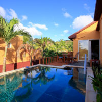 マリアナリゾート&スパの客室プール例
