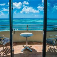 サイパンワールドリゾート客室からの眺め(オーシャンビュー)