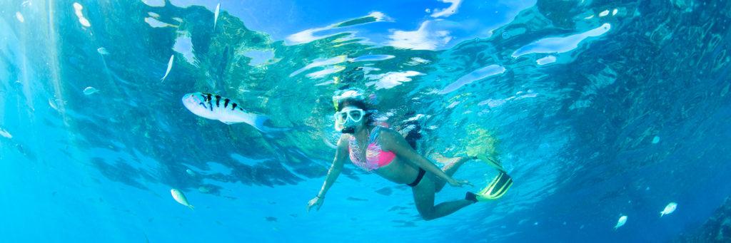 マリアナの透き通る海でシュノーケリングを楽しもう!