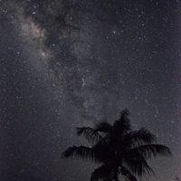 グロットから見る天の川 (c)Star Gazing Saipan