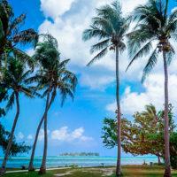 アメリカンメモリアルパークから見たマニャガハ島