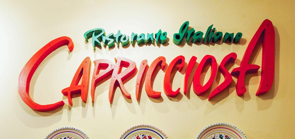 カジュアル・イタリアンレストラン『カプリチョーザ』のサイパン・ガラパン店