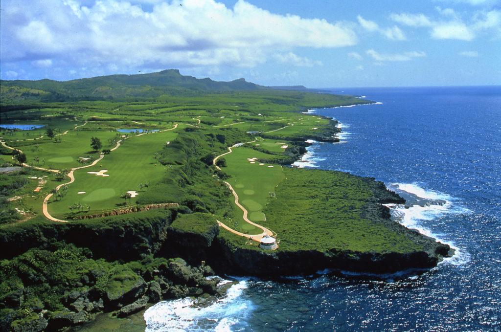 サイパン島の北東にあるシーサイドコース、キングフィッシャー・ゴルフリンクス