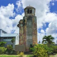 オールドサンホセ教会の古い鐘楼