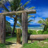 サイパン島東海岸のタンクビーチ
