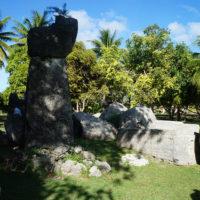 テニアン島に残る巨大石柱タガ・ストーン(ラッテ・ストーン)