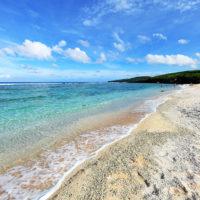 テニアン島のビーチ