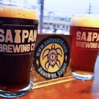 ソルティーズグリル&バーではサイパンローカルビールが飲める