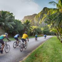 ヘルオブマリアナ 海も山も楽しみながら走ることができるコース