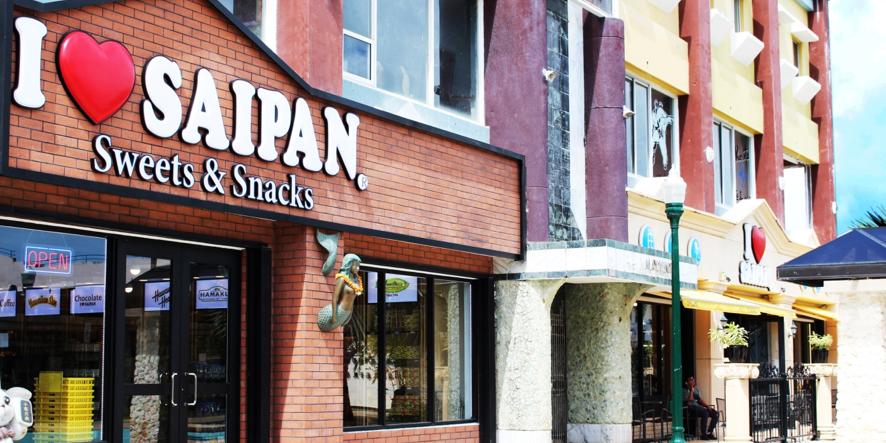 アイラブサイパンのスイーツ専門店(パセオ・デ・マリアナス/サイパン島)