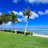 セントアンジェロチャペルそばのビーチ(ケンジントンホテルサイパン/サイパン島)