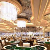 サイパンのカジノはまるで宮殿のよう