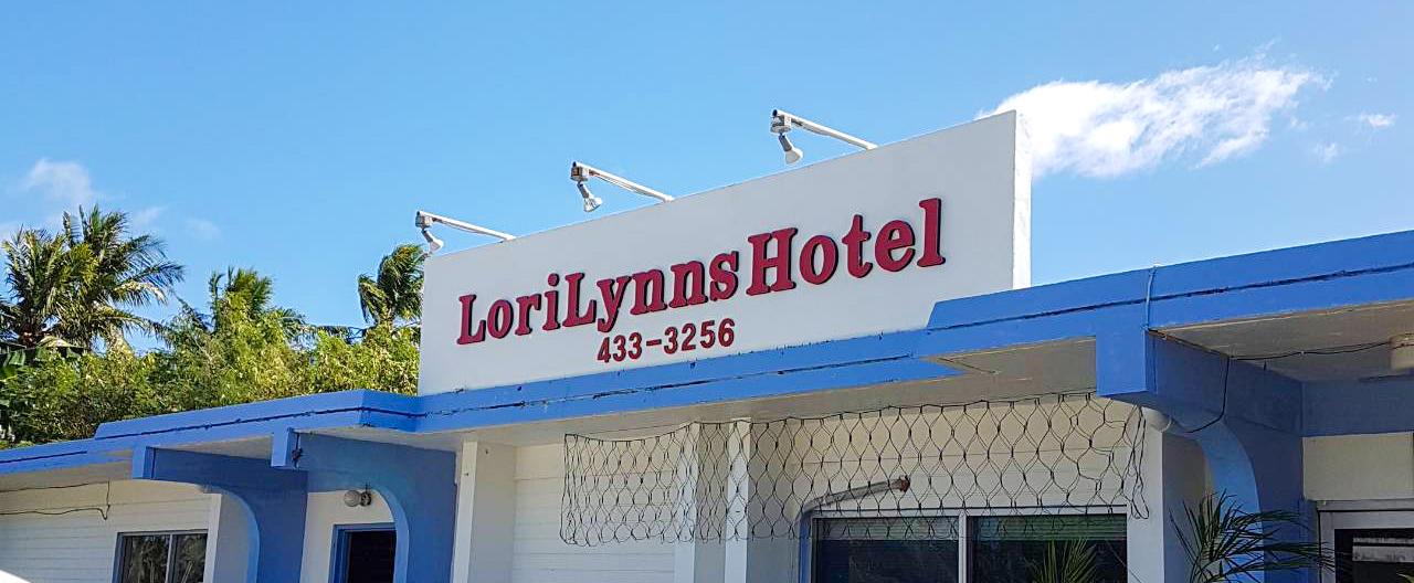 ロリリンズホテルはテニアン島にあるプチホテル