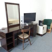 テニアン島のプチホテル「ロリリンズホテル」室内設備の一部