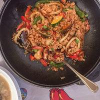 メキシカン&スモーク料理レストラン「ロコ&タコ」の料理