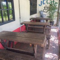 JC.カフェのテラス席