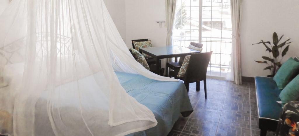 アベニューゲストハウスは全5室でプライベート感たっぷり。