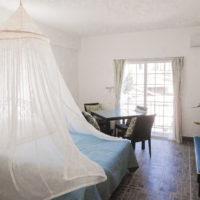 アベニューゲストハウスの客室(サイパン)