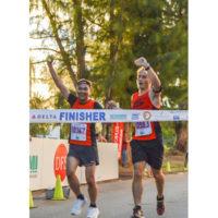 サイパンマラソン2018 ゴールシーン