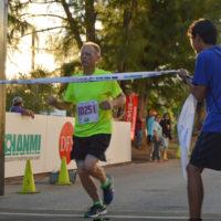 サイパンマラソン2018 ゴールの瞬間
