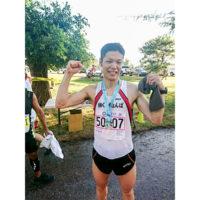 サイパンマラソン2018 50kmウルトラマラソンのランナー