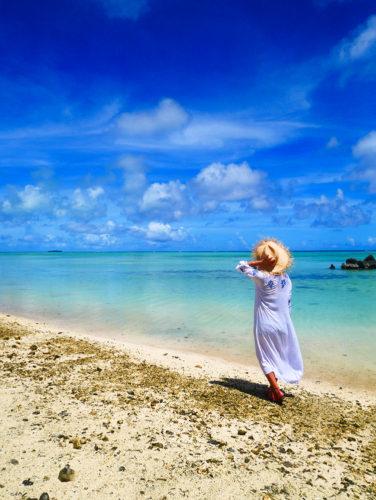 サイパン島北部のパウパウビーチでプライベートビーチ気分を満喫!