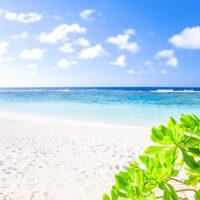 ロタ島のテテトビーチ