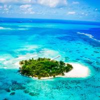 ラグーンに浮かぶマニャガハ島